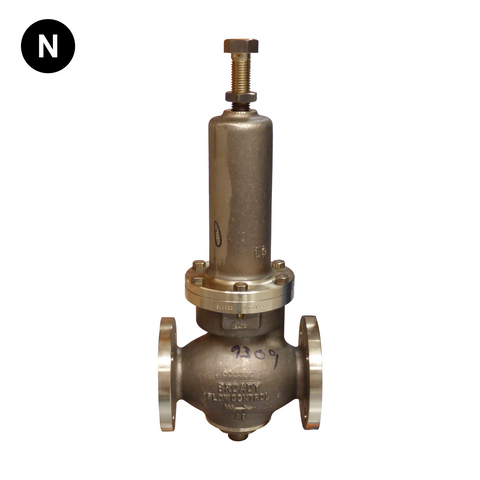 Broady Type D Aluminium Bronze Pressure Reducing valve - Flowstar (UK) Limited