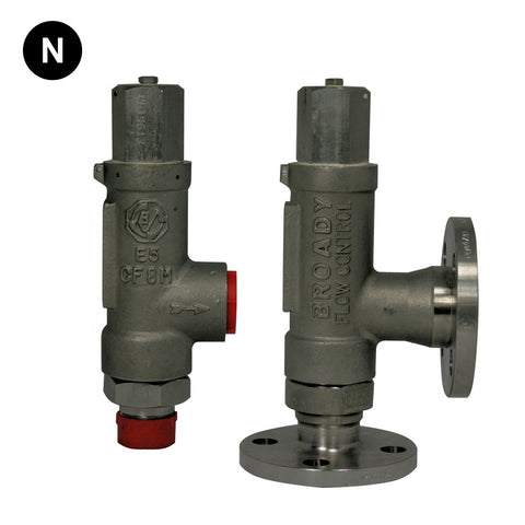 Broady 2600 Safety Relief Valve - Flowstar (UK) Limited