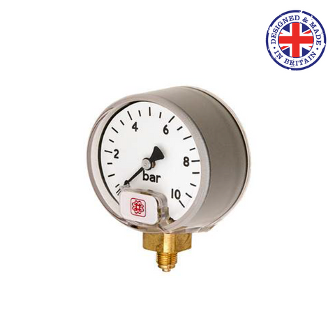 Budenberg 15P Small Dial Industrial Service Gauge - Flowstar (UK) Limited - 1