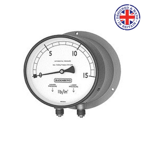 Budenberg 179F Differential Pressure Gauge - Flowstar (UK) Limited - 1