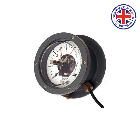 Budenberg 510 Water Tight Pressure Gauge for High Voltage Cables - Flowstar (UK) Limited - 1