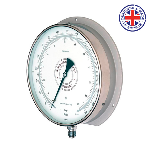 Budenberg 5414 0.15% Accuracy Super Test Pressure Gauge - Flowstar (UK) Limited - 1
