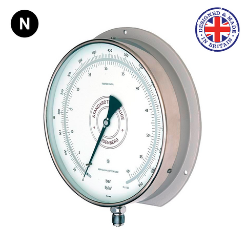 Budenberg 5214 0.25% Accuracy Standard Test Pressure Gauge - Flowstar (UK) Limited - 1