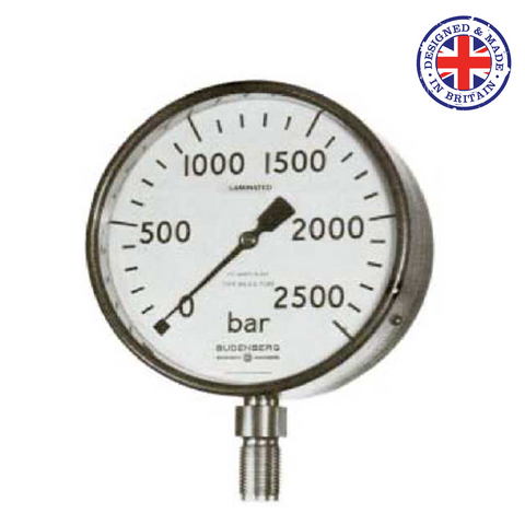 Budenberg 964GP & 564GP Very High Pressure Gauge - Flowstar (UK) Limited - 1