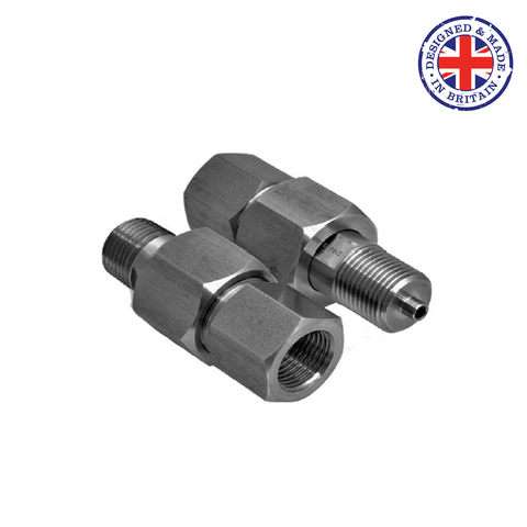 Budenberg 6GA Swivel Adapters - Flowstar (UK) Limited