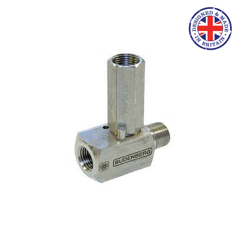 Budenberg 6GM Over Range Protection Valve (Gauge Saver) - Flowstar (UK) Limited