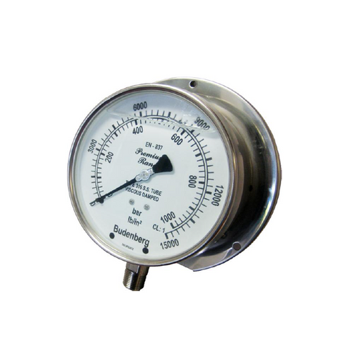 Budenberg 700 Power Pack Pressure Gauge - Flowstar (UK) Limited - 1