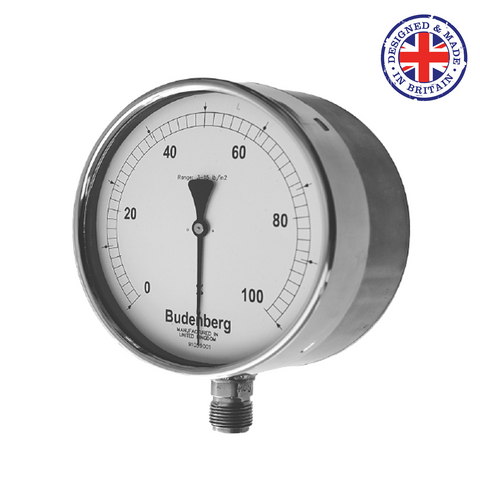 Budenberg 966RGP Receiver Type Pressure Gauge - Flowstar (UK) Limited - 1
