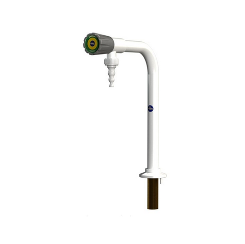 Laboratory Single Pillar BIB Tap with Removeable Nozzle