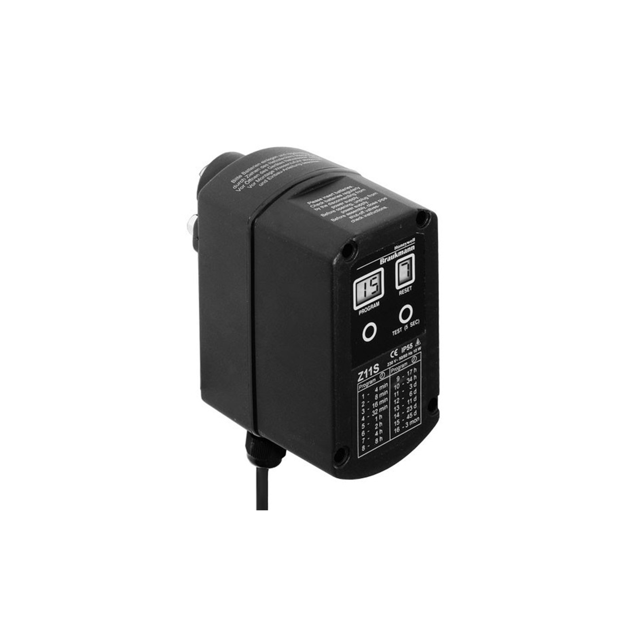 Honeywell Z11S-A Automatic Reverse Rinsing Actuator