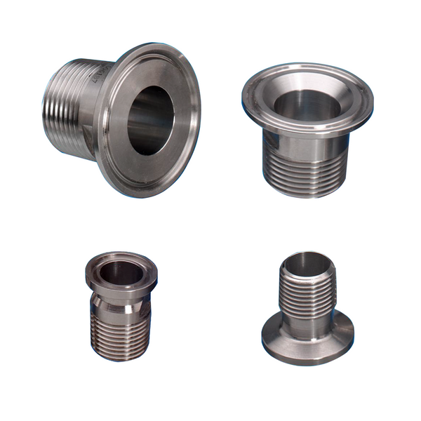 Male bsp stainless steel tri clamp adapter flowstar uk
