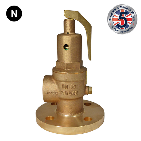 Nabic Fig 542F Flanged Safety Relief Valve - Flowstar (UK) Limited