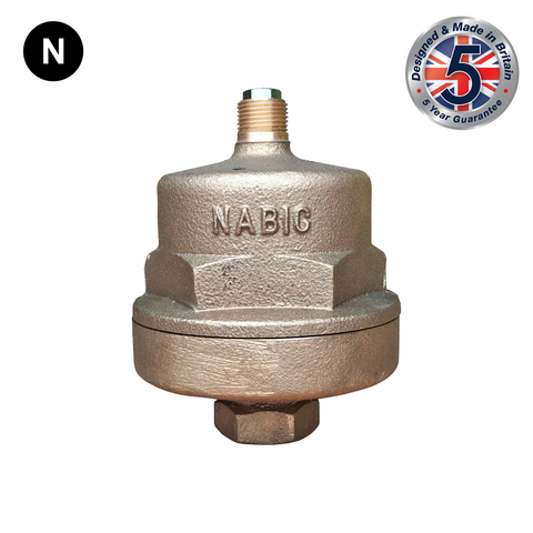 Nabic Fig 100 Automatic Air Vent - Flowstar (UK) Limited