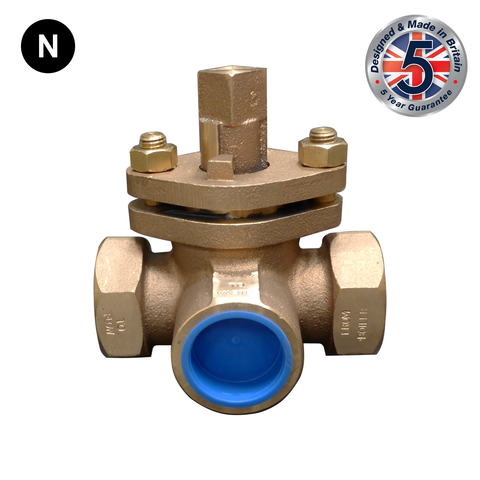 Nabic Fig 175 Three Way Vent Cock - Flowstar (UK) Limited