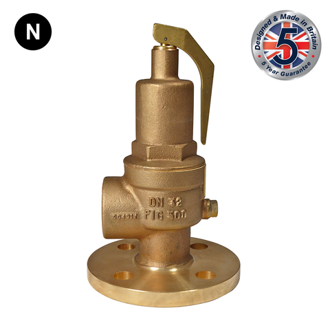 Nabic Fig 500F Flanged High Lift Safety Valve - Flowstar (UK) Limited