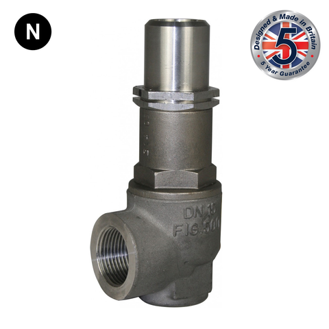 Nabic Fig 500FN High Lift Stainless Steel Safety Valve - Flowstar (UK) Limited