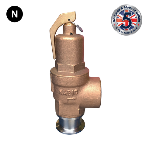 Nabic Fig 500ST High Lift Safety Valve - Flowstar (UK) Limited
