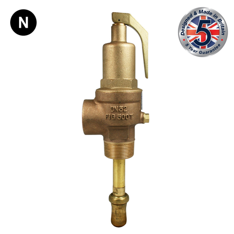 Nabic Fig 500T Combined Pressure & Temperature Relief Valve - Flowstar (UK) Limited