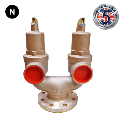 Nabic Fig 520 High Lift Double Spring Safety Valve - Flowstar (UK) Limited