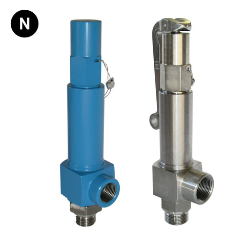Niezgodka Type 140 Safety Valve - Stainless Steel & Special Alloys - Flowstar (UK) Limited - 1