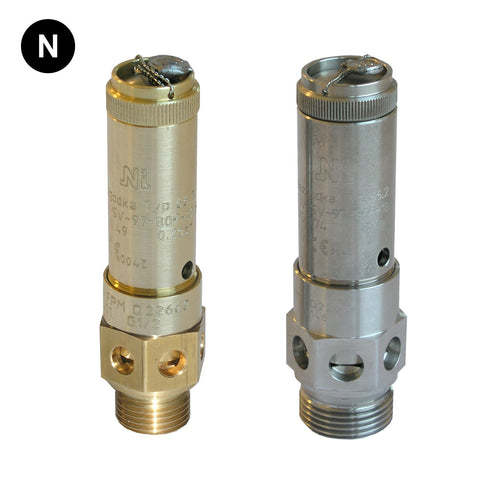 Niezgodka Type 66 Open Discharge Safety Valve - Flowstar (UK) Limited