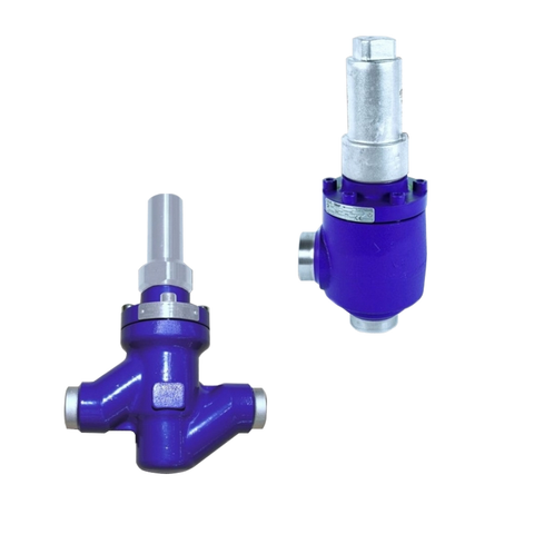 Refrigeration Shut-Off Valves