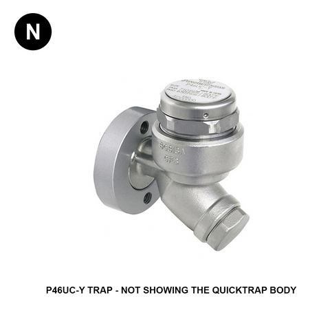 TLV FP46UC-Y QuickTrap PowerDyne Disk Type Steam Trap - Flowstar (UK) Limited