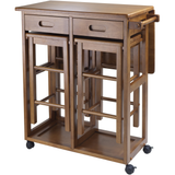 Winsome Portable Space Saver Kitchen Cart with Dropleaf -FREE 2 Stools -  - 1