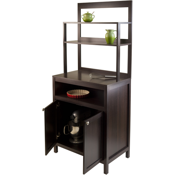 Winsome Jamie Buffet with Cabinet and Hutch -  - 1