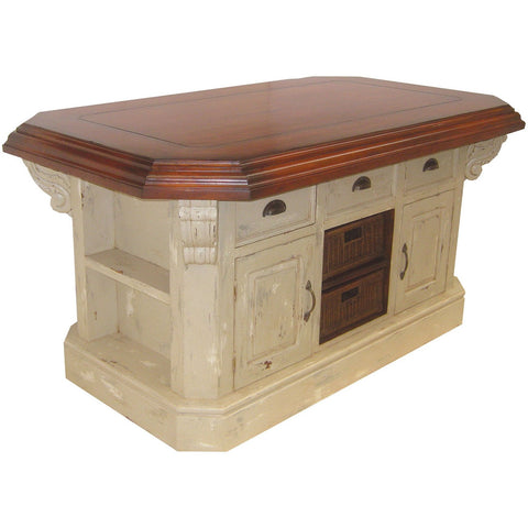 The Elk Group Internation Guildmaster Small Kitchen Island #635500G Table