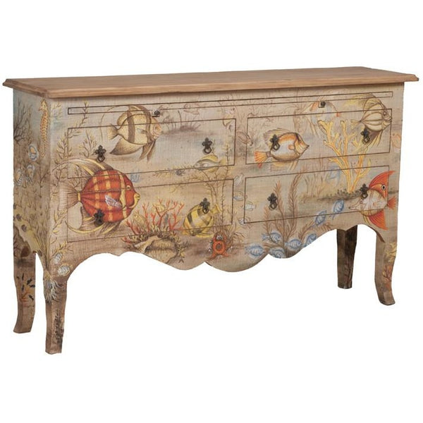 The Elk Group Internation Guildmaster Island Cottage Sideboard #641708 Credenza