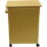Winsome Kitchen Cart with Drawer and Cabinets -  - 4