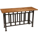 Stone County Ironworks Mission Sideboard Table - Distressed Pine Top -  - 1