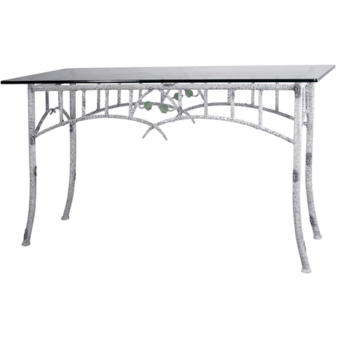 Stone County Ironworks Whisper Creek Iron Sideboard - Glass Top -  - 1