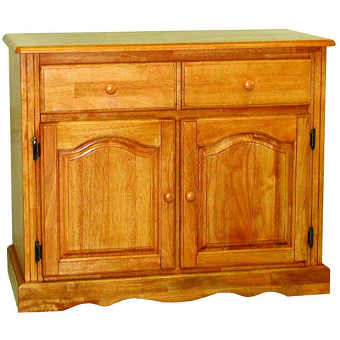 Sunset Trading Keepsake Buffet in Light Oak Finish