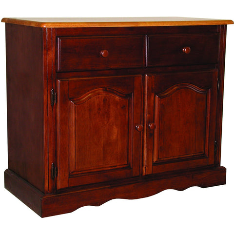 Sunset Trading Keepsake Buffet in Nutmeg Light Oak Finish