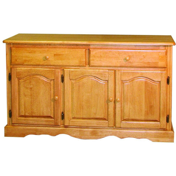 Sunset Trading Treasure Buffet in Light Oak Finish