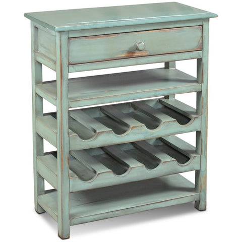 Sunset Trading Veracruz 8 Bottle Wine Rack with Drawer