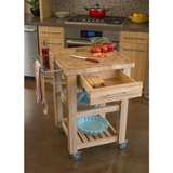 Chris & Chris Pro Chef Kitchen Cart Work Station -  - 2