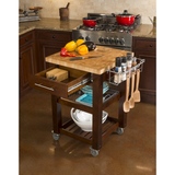 Chris & Chris Pro Chef Kitchen Cart Work Station -  - 11