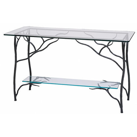 Stone County Ironworks Branch Sideboard Table - Glass Top -  - 1