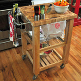 Chris & Chris Pro Chef Kitchen Cart Work Station -  - 9
