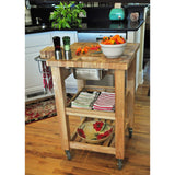 Chris & Chris Pro Chef Kitchen Cart Work Station -  - 8