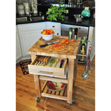 Chris & Chris Pro Chef Kitchen Cart Work Station -  - 7