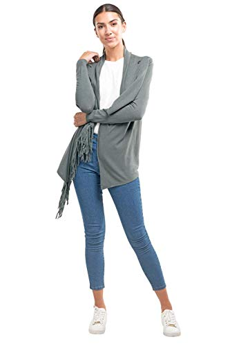 Love Stitch Women's Soft Fringe Cardigan
