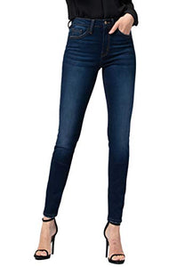 Flying Monkey Jeans PineDark Wash High Rise Ankle Skinny