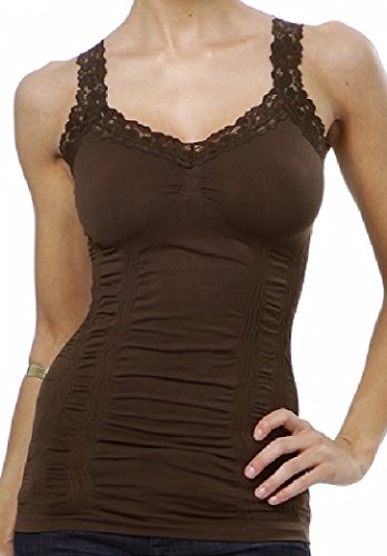 M. Rena Women's Lace Camisole Tank Top