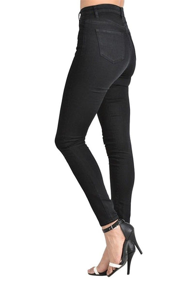 Kan Can Women's High Rise Skinny Jeans