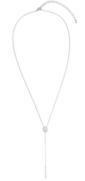 Saachi Silver Pendant Necklace
