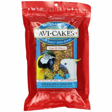 Avi-Cakes for Macaws and Cockatoos